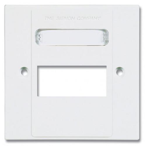 Siemon MX-BFP-S-03-02 | Siemon 3 Port S/G Faceplate White