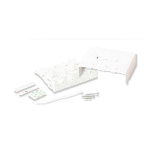 Siemon 4 Port Z-MAX Surface Mount Box White (Each)