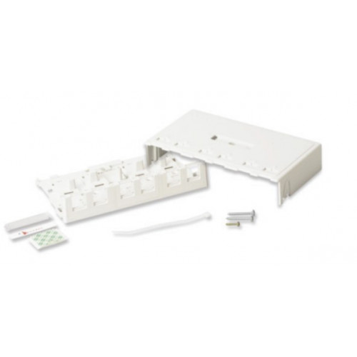 Siemon 6 Port Z-MAX Surface Mount Box White (Each)