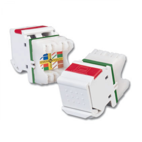 Siemon Angled MAX Cat5e Outlet White (Each)