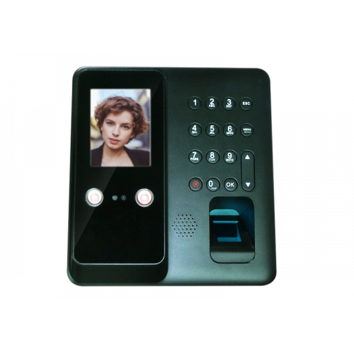 Norden NAC-4004FF | Secnor Facial Fingerprint Access control 2.8inch Screen
