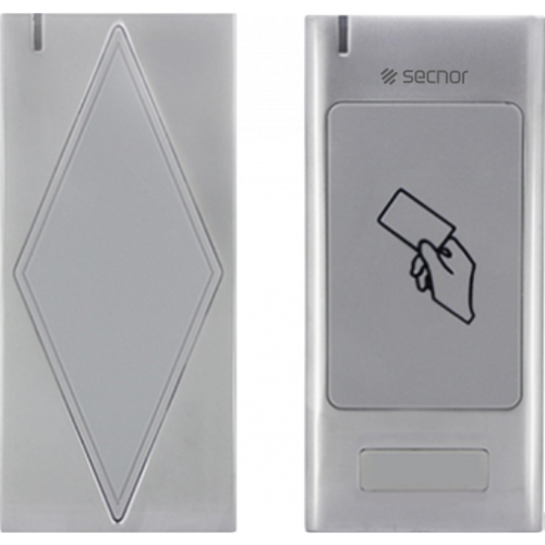 Secnor NAC-5008WA Standalone Metal EM Format Access Control Proximity Card Reader with Programming Cards