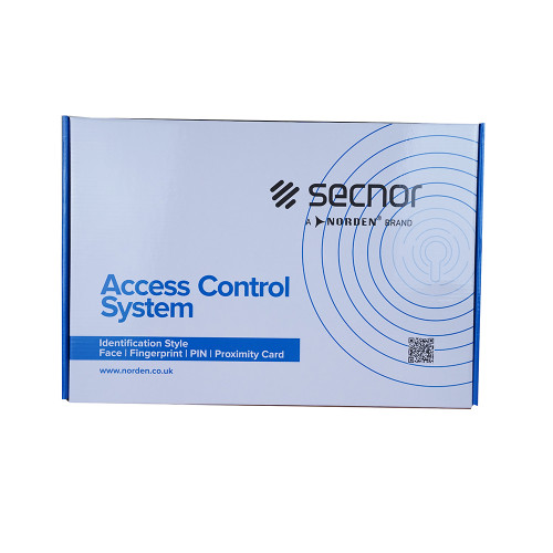 Secnor NAC-7003CP Four Door Access Control System Panel in Lockable Metal Cabinet with 5 Amp Power Supply Unit. Controls 4 Doors