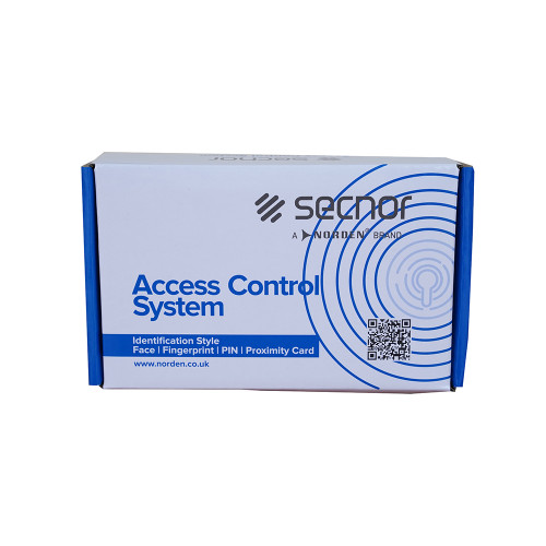 Secnor NAC-8001AR VR Plastic Access Control System EM Format Proximity Card Reader