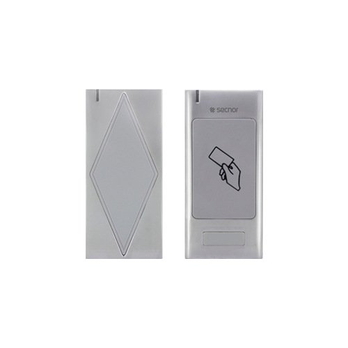 Secnor NAC-8008AR VR Metal Multi-format Access Control Proximity Card Reader