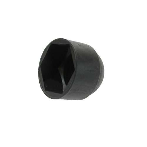 Black Nut Cover Dome Caps