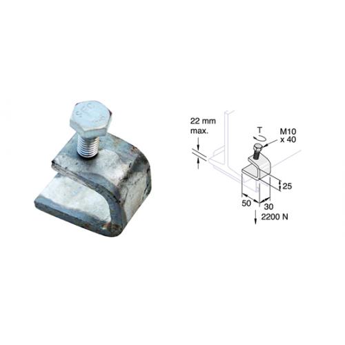 Unistrut/Network Pipe P1272 | Mild Steel Zinc Plated Channel Beam Clips