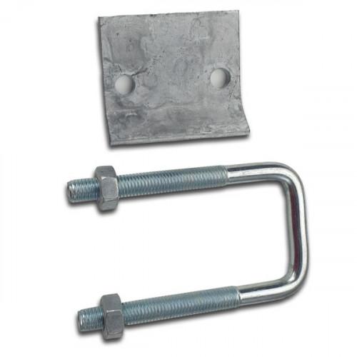 Mild Steel Plated Zinc Hot Dipped Deep Beam Clamp (Each)