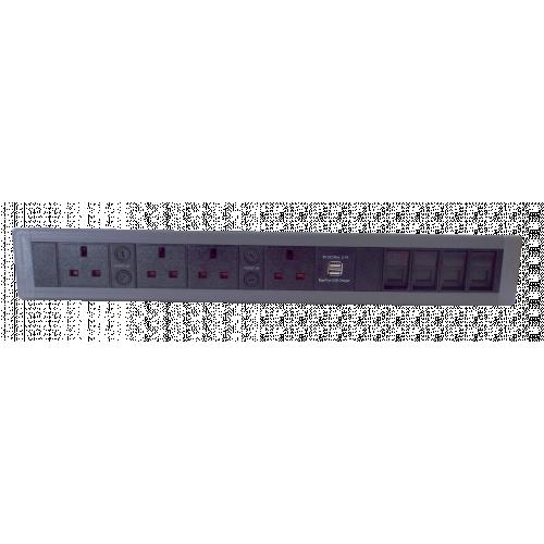 PDS 4 Power (North) 2 USB & 4 Data (Each)
