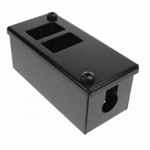 CMW Ltd    2 Way POD / GOP Box 60mm Deep 20mm Entry - Black Each
