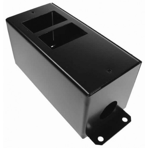 CMW Ltd  | 2 Way POD / GOP Box with Side Wings 55mm Deep 20mm Entry- Black- Each