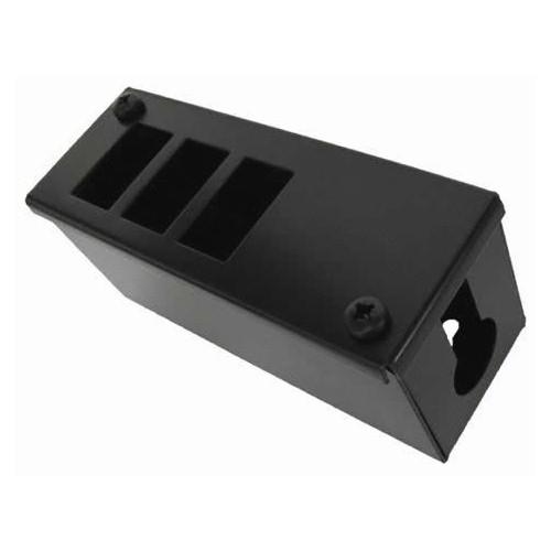 CMW Ltd    3 Way POD / GOP Box 70mm Deep 25mm Entry - Black Each