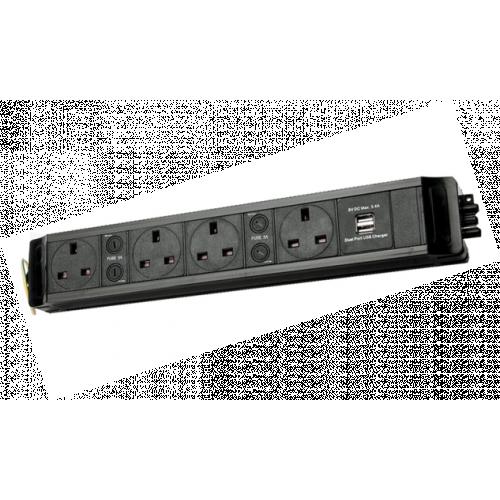 CMW Ltd  | 4 Way Power with Dual 3.4a USB
