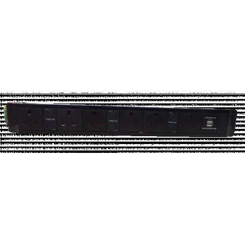 CMW Ltd  | 6 Way Power with Dual 3.4a USB