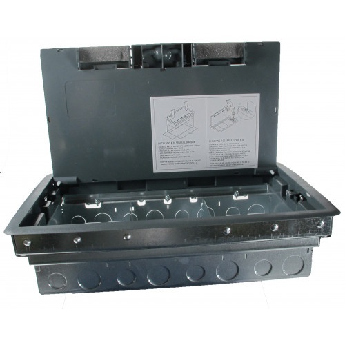CMW Ltd  | 3 Compartment Access Floor Box