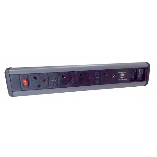 CMW Ltd    4 Power, 2 USB & 2 Cat 6 Modules / Couplers