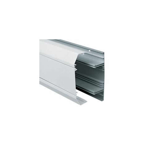 Marshall-Tufflex  EP1MWH | Marshall Tufflex Sterling Profile 1 3 Compartment Dado Trunking (3m lgth)