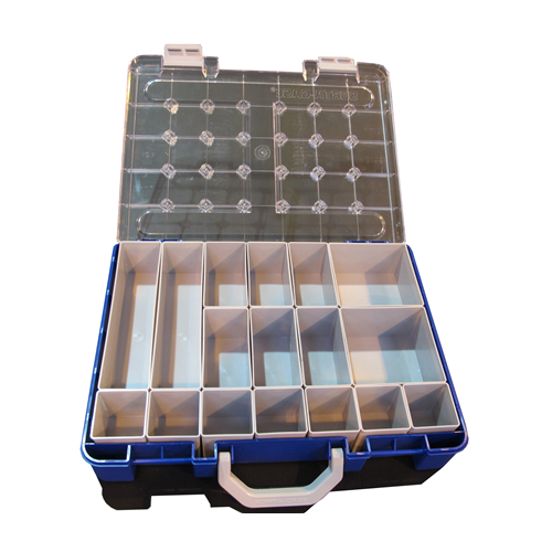 Sorta - Case PSC.217.BE/GY   Blue Professional Sorting Case