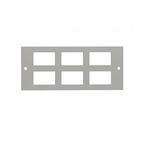 CMW Ltd  | Powerplan 6 Way LJ6C Data Plate 175mm x 75mm