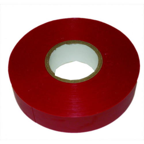 Red 19mm Wide x 33m PVC Insulating Tape (Each)