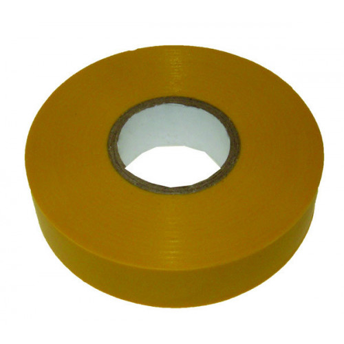 Yellow 19mm Wide x 33m PVC Insulating Tape (Each)