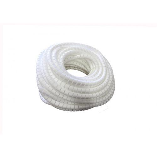 CMW Ltd    15mm White PolyWrap Protection Tubing (50m Roll)