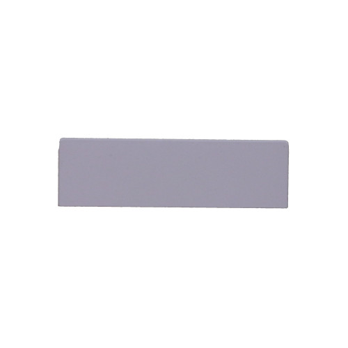 Univolt QE50/170 | Dietzel Univolt PVC White Dado Trunking Starline 3 Compartment Square Stop Ends