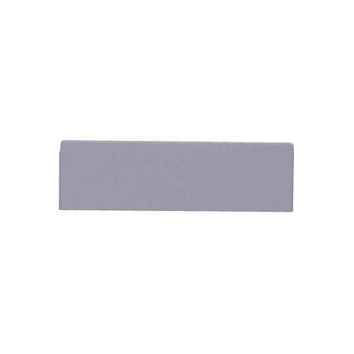 Univolt QE50/170   Dietzel Univolt PVC White Dado Trunking Starline 3 Compartment Square Stop Ends