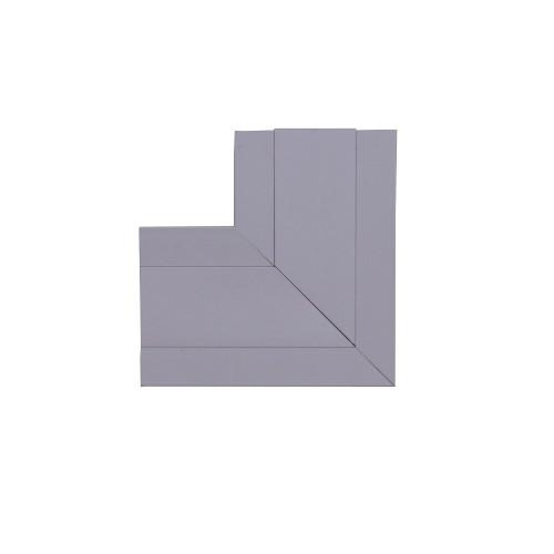 Univolt QFW50/170   Univolt Starline 3 Compartment Square Flat Angle