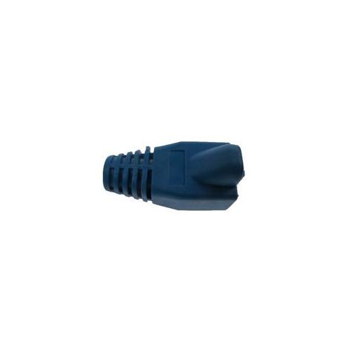 CMW Ltd  | RJ45 Boots (Bag / 50) Blue (Pack of 50)