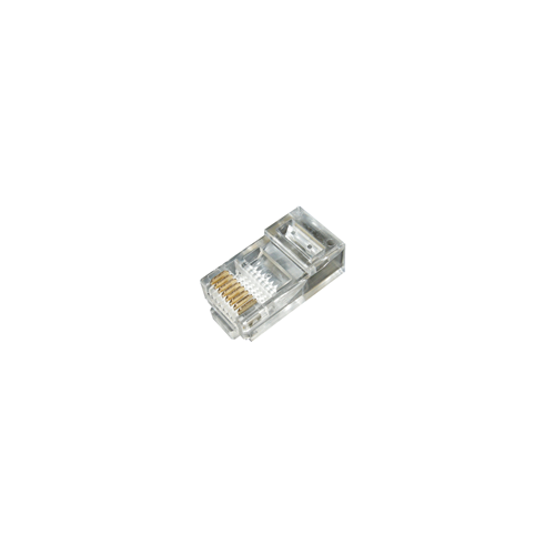 RJ45 Crimp Plugs for Patch UTP Cable Pack 100 (Bag / 100)