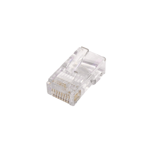 Cat5e RJ45 Plugs for Solid UTP Cable Pack 100 (bag/100)