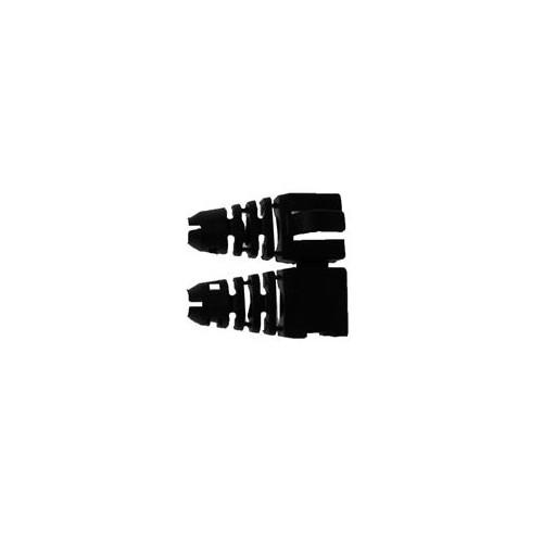 CMW Ltd  | Retro-fit RJ45 Boots (Bag / 50) Black (Pack of 50)