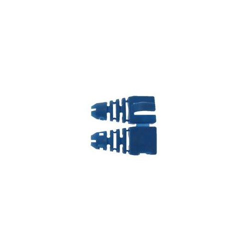 CMW Ltd  | Retro-fit RJ45 Boots (Bag / 50) Blue (Pack of 50)