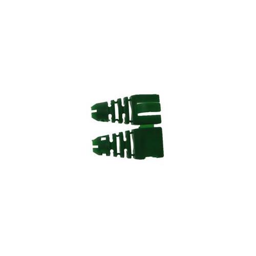 CMW Ltd  | Retro-fit RJ45 Boots (Bag / 50) Green (Pack of 50)