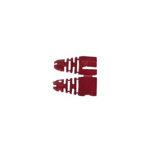 Retro-fit RJ45 Boots (Bag / 50) Red (Pack of 50)