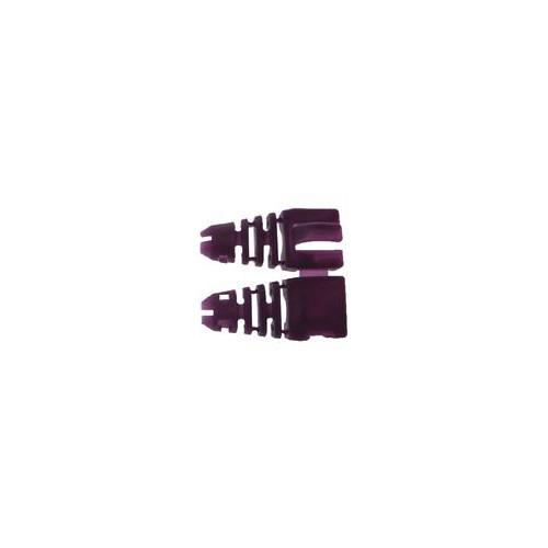CMW Ltd  | Retro-fit RJ45 Boots (Bag / 50) Violet (Pack of 50)