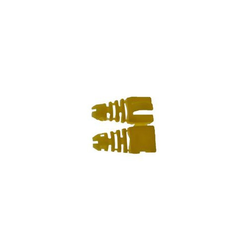 CMW Ltd  | Yellow Retro-fit Snagless  RJ45 Boots Bag 50 (Pack of 50)