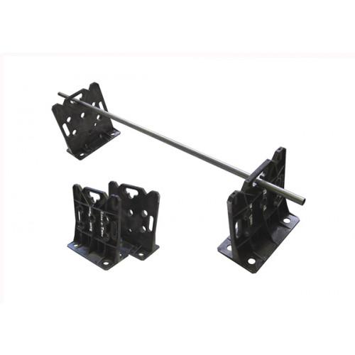 HellermannTyton RACKATIERBK | Rack-A-Tier Cable Reel Holder Plastic Pack of 2 (Per /pair)