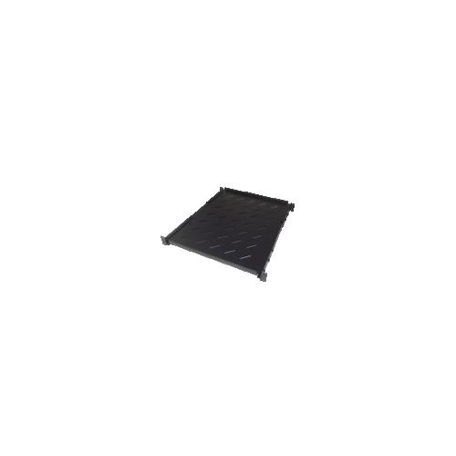CMW Ltd  | 750-930mm Deep 19inch Adjustable Shelf Black-Matrix