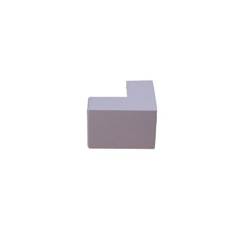 Univolt SAE16/25 | Dietzel Univolt 25mm x 16mm PVC White Mini Trunking External Angle