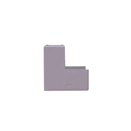Univolt SAE25/40   Dietzel Univolt 40mm x 25mm PVC White Mini Trunking External Angle
