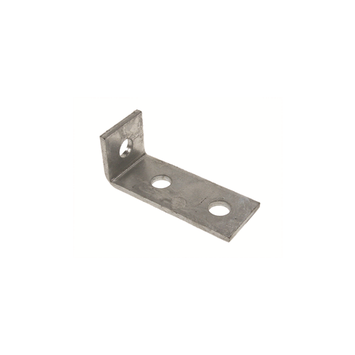 3 Hole Angle Pedestal Leg Support Bracket 100m length (Each)