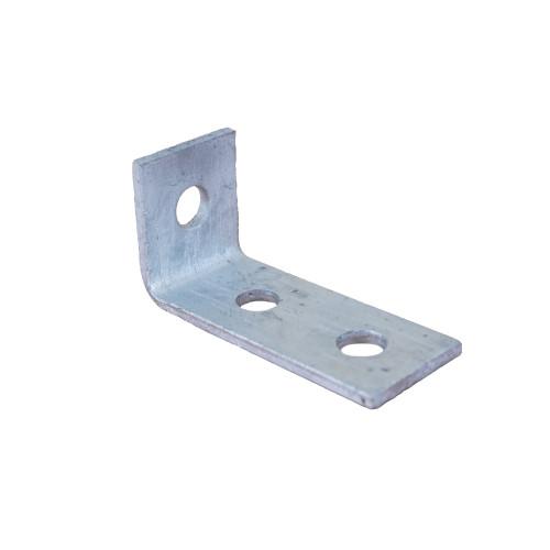 3 Hole Angle Pedestal Leg Support Bracket 100m length (Each)