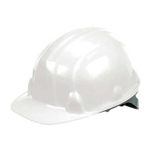 W-018-White    White Safety Hard Hat