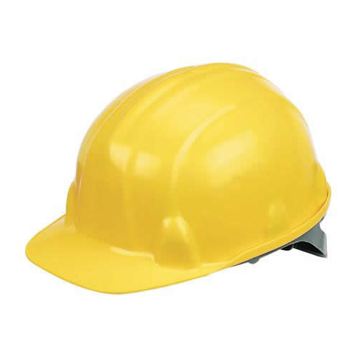 W-018-Yellow  | Yellow Safety Hard Hat