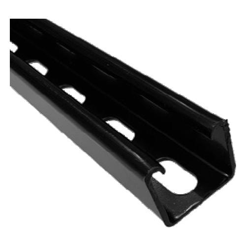 CMW Ltd    Black Deep Slotted Channel 41mm x 41mm