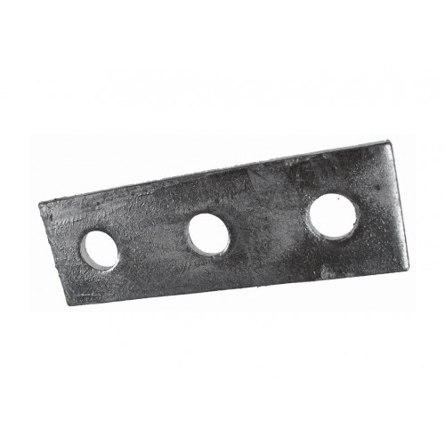Metpro MP3 | 3 Hole Flat Plate Support Channel Steel Fitting