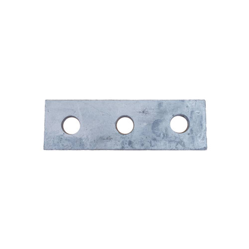 3 Hole Flat Plate Support Channel Steel Fitting (Each)