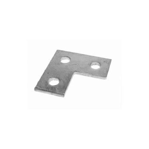 MP6  | 3 Hole Flat L Plate Fitting